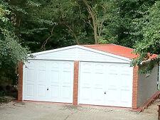 "Concrete Garages - Yorkshire prices- 14'3 "" x 16'5""  - elite  apex - £4497.00"
