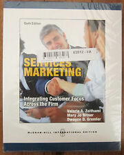 Services Marketing : Integrating Customer Focus Across The Firm 6th Edition NEW