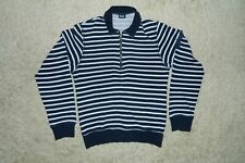 Authentic Men's DOLCE&GABBANA 1/2 Zip Jumper Sweater Striped Size M Italy