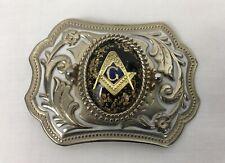 Vintage Masonic Freemason Belt Buckle