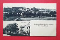 AK Sächsische Schweiz STRUPPEN 1913 Mittel-Gasthof und Ortsansicht   ( 35054