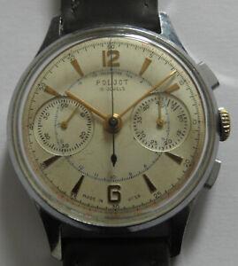 VINTAGE  Poljot 3017 (Sekonda - Strela) Chronograph USSR WRIST WATCH MEN,S