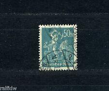 Dt. Reich 50 Mark Bergarbeiter 1923 Michel 245 geprüft (S8968)