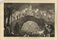 1879 The Cornelius Festival At Dusseldorf In The Garden Of The Malkasten