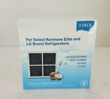 New listing Replacement Refrigerator Air Filter for Lg Lt120F Kenmore Elite 469918 Us 3 Pack