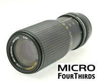 MICRO 4/3 M43 fit 80-205mm (160-410mm) LENS PANASONIC LUMIX / OLYMPUS PEN