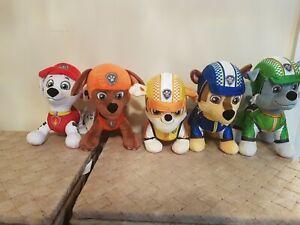 Paw patrol plush bundle