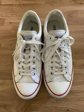 Converse Chuck Taylor All Star Leather White Men Shoes UK9