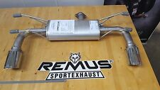 Remus Cat Back Sport Exhaust for Fiat 124 Spider SEMA Display Special
