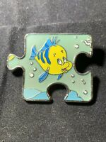 Disney Little Mermaid Character Connection LE 900 Puzzle Flounder Pin 101293