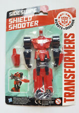 "TRANSFORMERS ROBOTS IN DISGUISE ""SHIELD SHOOTER"" SIDESWIPE ACTION FIGURE -HASBRO"