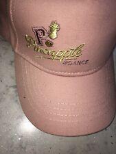Pineapple Dance Baseball Cap Pink Logo New Tags