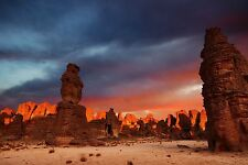 Lámina-Tassili n'Ajjer Parque Nacional desierto del Sahara (imagen Sunset Arte)