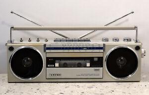 SANYO M7750LG stereo cassette recorder Boombox Ghetto blaster 1980's JAPAN Rare