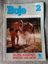 BOJE 2 - Magazin der DLRG Schleswig-Holstein e.V. - 1.Jahrgang 2/ 1989