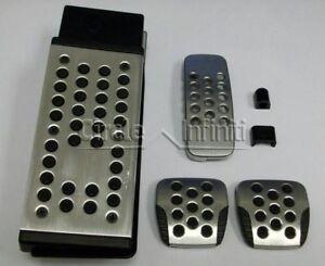 New OEM Infiniti G35 Sport Drilled Aluminum Manual Pedals Upgrade Kit 6MT