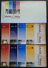 2008 Malaysia Premier School Blank FDC, 2 Information Leaflet (ordinary + ERROR)