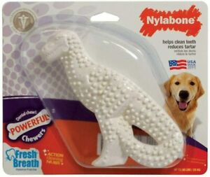 Nylabone Durable Dental Dinosaur  Dog Chew, Regular, Assorted Shapes