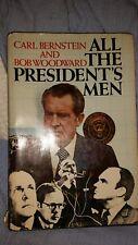 ALL THE PRESIDENT'S MEN by CARL BERNSTEIN and BOB WOODWARD HC/DJ