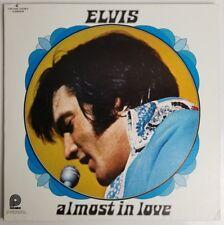 "Elvis Presley Almost in love Vinyl 12"" 33 rpm LP Pickwick Records CAS-2440"