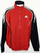 ADIDAS T-Suit Woven oh Trainingsjacke Sportjacke Teamsportjacke Rot/Schwarz Gr.S