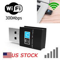 USA 802.11g/n/b 300Mbps USB WIFI Wireless Adapter For PC Laptop/Notebook/Desktop