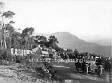 """Photo 1900s NSW Australia """"Echo Point, Automobiles"""""""