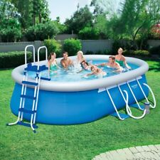 Ovale Piscina con Collare 549 x 366 x 122 cm Bestway