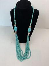 Indian Bollywood Wedding Bridal Fashion Jewelry Bluestone Diamond chain Necklace