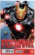 IRON MAN #1 JOE QUESADA RETAIL VARIANT 1:100 2013 9.6 9.8 CGC MARVEL NOW MOVIE