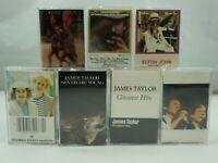 SIMON GARFUNKEL JAMES TAYLOR JIM CROCE ELTON JOHN Hits Vintage Cassette Tape x 7
