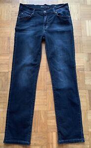 Angels 3430 Cici Jeans Gr. 40, schwarz, Stretch, Skinny, Strass-Steine