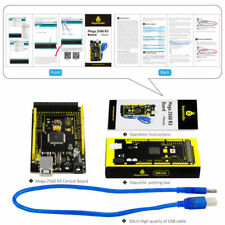 New! Keyestudio MEGA 2560 R3  for Arduino MEGA  2560 R3 + usb cable + Video +PDF