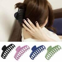 Women Crab Hair Claw Clip Girls Plastic Large Hairpin Claws Hair Clamp QK
