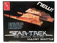 STAR TREK MOTION PICTURE MODEL KIT: Vulcan Shuttle (AMT 1979 Tan colour) NIB