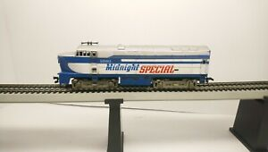 Tyco HO Train Midnight Special Baldwin Sharknose Dummy Diesel Locomotive