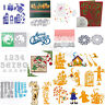 Christmas Cutting Dies Stencil Scrapbooking Card Embossing DIY Mould Paper Decor
