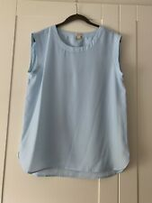 J Crew Pale Blue Top Size S Small Hardly Worn