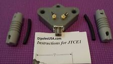 QUALITY DIPOLE ANTENNA 2 KW Center Insulator + 2 end insulators! FAST SHIPPING
