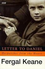 Letter To Daniel Tie In: Despatches From The Heart (BBC) Keane, Fergal Paperbac
