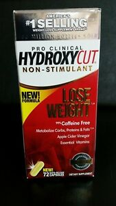 Hydroxycut Pro Clinical Weight Loss NON-STIMULANT  72 Rapid Release Capsules