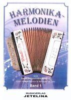 diat. diatonische Handharmonika Noten : Harmonika Melodien 1 - Windisch Columbus