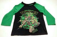 Nickelodeon Teenage Mutant Ninja Turtles TMNT Kids Long Sleeve Shirt 3T/NP3