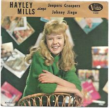 MILLS, Hayley  (Jeepers Creepers)  Vista F-395 vintage record & picture sleeve