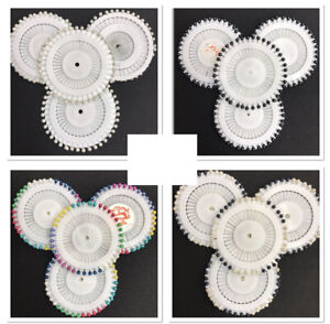 Pearl Hijab Scarf Pins Safety Pin Wheel Craft Tailor Sewing Hat