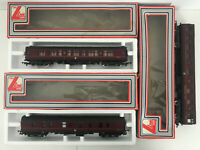 Lima Models Restaurant Car 305323 - M25486 + Restaurant Car Carriages Maroon