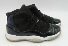 Nike Air Jordan 11 Retro BG- Youth- Size 4.5Y- Space Jam- Black- [378038-003]