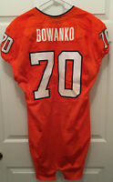 University of Virginia UVA Cavaliers Luke Bowanko Football Game Worn Jersey