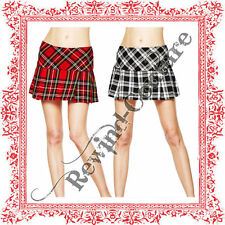 Hell Bunny Cotton Checked Skirts for Women