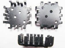 10 x Kühlkörper TO3 RthK 7 K/W Aluminium eloxiert (45x45x13mm) #2K60#